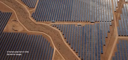 Google anuncia que a partir de 2017 solo consumirá energía renovable
