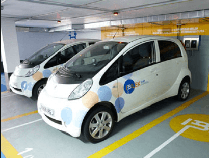 Euskadi facilitará la recarga de los coches eléctricos en los garajes comunitarios