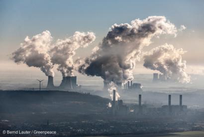 Solo multiplicando por diez la reducción de CO2 se puede hacer frente a la emergencia climática