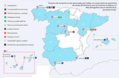 Endesa proyecta un centro de reciclado de palas eólicas y otro de baterías en León