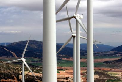 Castilla y León lidera un año más el ranking eólico en España