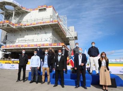 Navantia gana posiciones en el potente sector noruego del Oil & Gas con la mirada puesta en las energías renovables marinas
