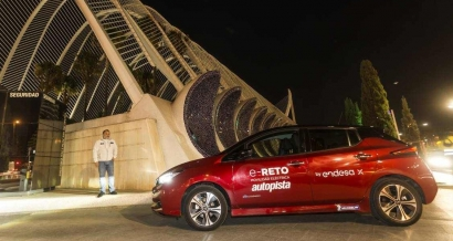 Endesa recorre en un Nissan 100% eléctrico todas las provincias de la península en menos de siete días
