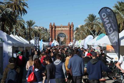 La gran feria del vehículo eléctrico de Barcelona vuelve a romper su techo de asistencia
