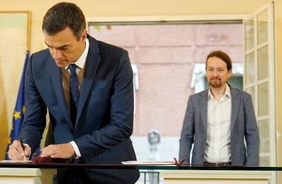 Esto es lo que dice de energía el acuerdo de Presupuestos Generales que acaban de firmar PSOE y Podemos