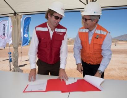 Acciona firma contrato para suministrar electricidad con base renovable a Aguas Chañar