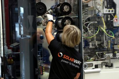 Solarwatt cierra el primer trimestre del año como el mejor de su historia