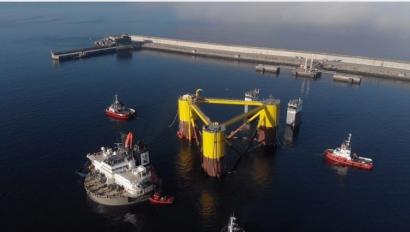 Galicia establece un nuevo hito en la historia de la tecnología eólica marina flotante