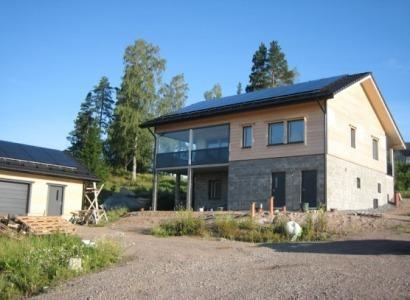 Una casa de madera (y sin aislamientos) que resiste temperaturas de -30ºC