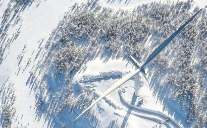 Llega a Finlandia el gigante SG de cinco megavatios