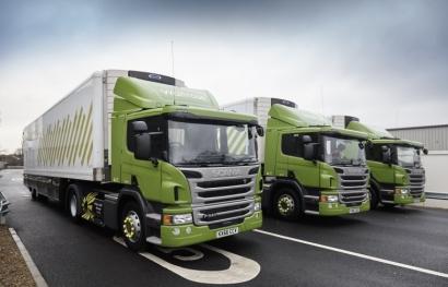 Supermercados británicos contarán con una flota de 500 camiones con biometano
