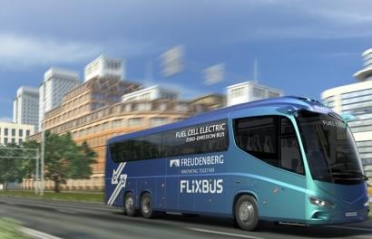 FlixBus quiere que sus autobuses de hidrógeno puedan recorrer hasta 500 kilómetros sin repostar