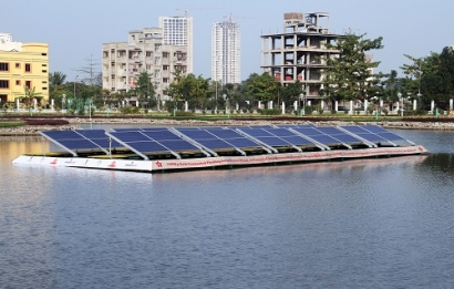 Vikram Solar bags 1 MW Floating Solar Project