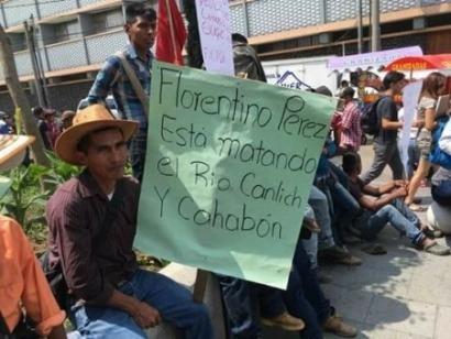 Un millar de indígenas quekchí de Guatemala, enfrentados a Florentino Pérez