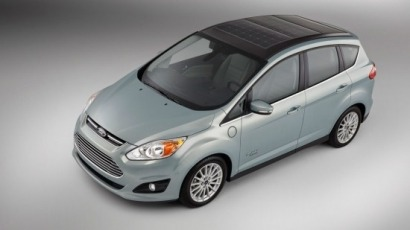 Ford C -Max Energi Solar, el primer híbrido con paneles solares