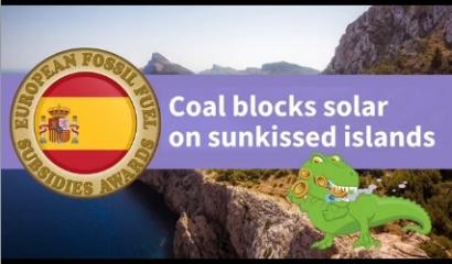 Los ecologistas señalan a Portugal, Polonia y España como las tres naciones europeas que más subvencionan las energías sucias