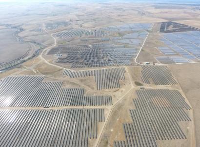 El parque fotovoltaico La Solanilla producirá más de cien gigavatios hora cada año