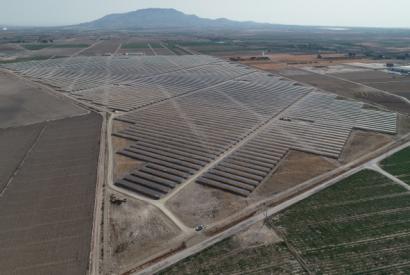 El parque solar de Totana ya está en red