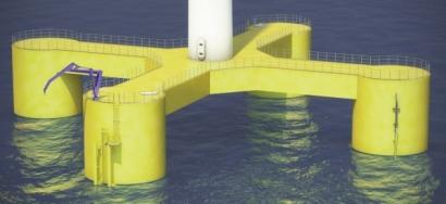 Nautilus desarrolla estructuras flotantes para eólica offshore en aguas profundas