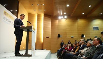 Este es el discurso con el que Pedro Sánchez ha presentado hoy el Paquete de Energía y Clima Horizonte 2030