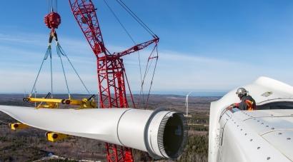 China ha instalado en 2020 más potencia eólica que Europa, América, África y Oceanía juntas