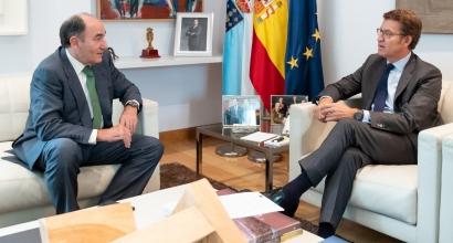 Iberdrola pagará 170 millones de euros a Navantia por la fabricación de los jackets del parque eólico marino de Saint-Brieuc
