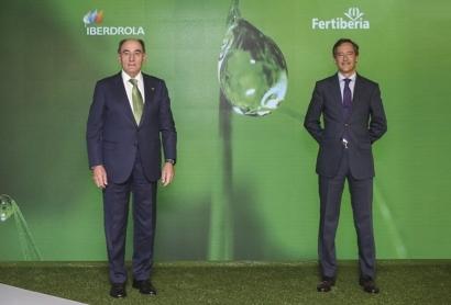 Fertiberia e Iberdrola piden ayudas europeas para poner en marcha 3 de las 4 fábricas de hidrógeno verde que planean