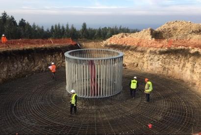 GES anuncia que instalará en Aragón 231 megavatios de potencia eólica distribuidos en cinco parques