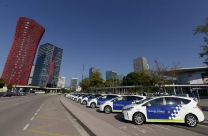 Hospitalet elige híbridos eléctricos Toyota para su Guardia Urbana