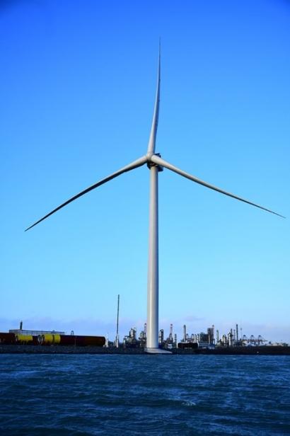 El gigante Haliade-X de General Electric ya opera a trece megavatios de potencia