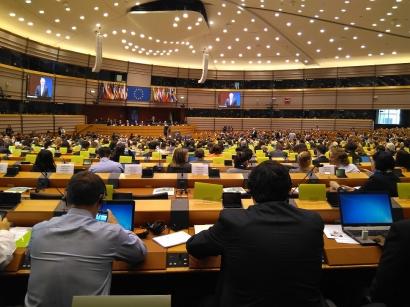 El Parlamento Europeo se juega mañana 92.000 millones de euros