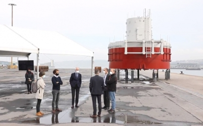 El mayor laboratorio flotante para las energías marinas de Europa, en aguas vascas