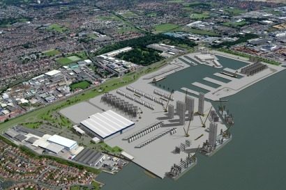 Siemens Gamesa anuncia la creación de 200 nuevos empleos en su fábrica británica de palas de aerogeneradores marinos