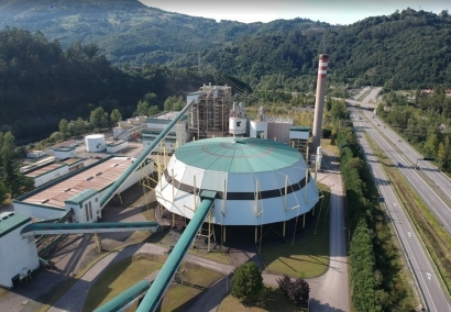 Hunosa usará biomasa forestal en lugar de carbón en la central termoeléctrica de La Pereda