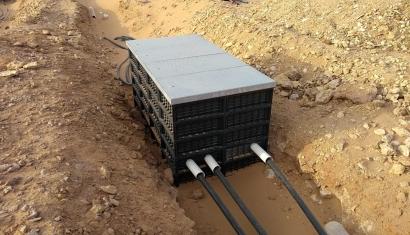La empresa navarra Hidrostank lleva sus arquetas al primer parque eólico de Arabia Saudita