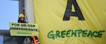 Greenpeace reclama al Gobierno la renovación urgente del Consejo de Seguridad Nuclear