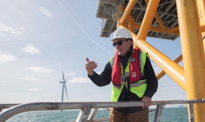 Taiwán, próximo destino de Iberdrola para desarrollar 6.000 MW eólicos marinos