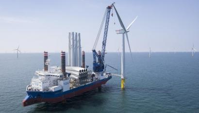Iberdrola estudia una ampliación de capital para financiar su negocio eólico marino