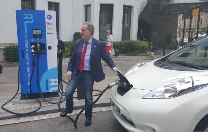 Bilbao anuncia la puesta en marcha de dos nuevos puntos de carga rápida para vehículos eléctricos