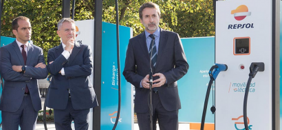 Repsol inaugura la estación de recarga de vehículos eléctricos de mayor potencia de Europa