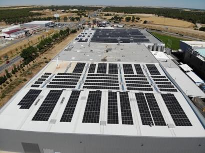 ISE concluye una planta de autoconsumo de casi 1.300 kW para Grupo EDF Fenice