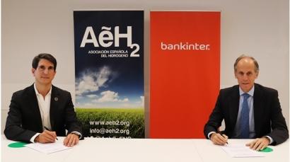 Bankinter reserva 100 millones de euros para financiar proyectos impulsados por las empresas de la Asociación Española del Hidrógeno