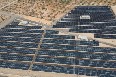 Energía solar fotovoltaica bajo el nivel del mar
