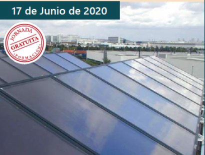 Cita on line el 17 de junio para conocer los múltiples usos de la solar térmica en la industria