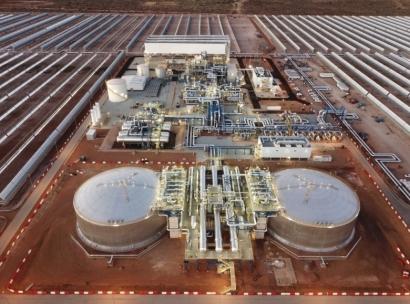 Acciona y Sener ponen en marcha en Suráfrica la central termosolar de Kathu