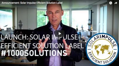 Solar Impulse busca las mejores 1.000 soluciones que aúnen sostenibilidad y rentabilidad