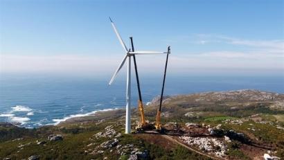 Malpica, el parque eólico que antes tenía 69 aerogeneradores y ahora solo 7... que producen el doble