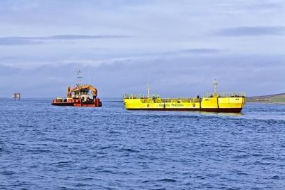 La empresa gallega Magallanes ya genera electricidad con la energía de las mareas