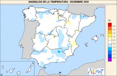 2020 empata con 2017 como el año más cálido en España desde que hay registros