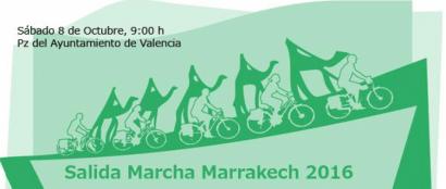 A Marrakech en bici para impulsar una ley estatal de cambio climático